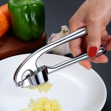 Wholesale Reusable Kitchen Stainless Steel Garlic Press