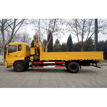 Dongfeng 5Tons Articulated Top Lift Crane Trucks