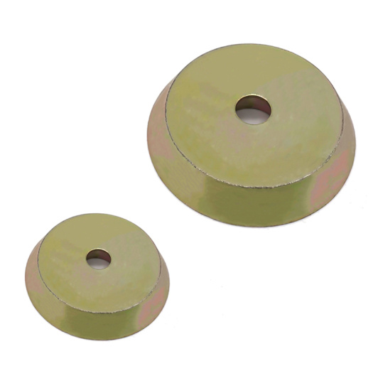 D55 Threaded Bushing Magnets With Zinc Coated
