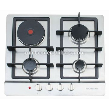3 Gas Hob with One Hot Plate