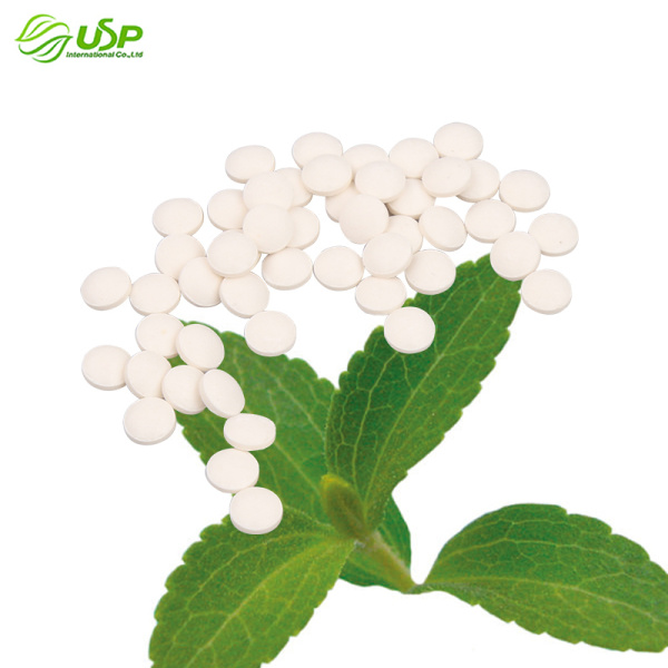 Pure Stevia Sweeteners Stevia Tablet for food beverages