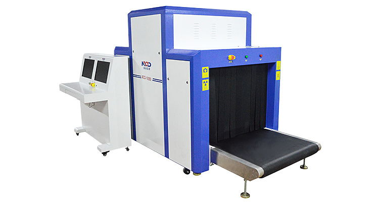 size of baggage scanner