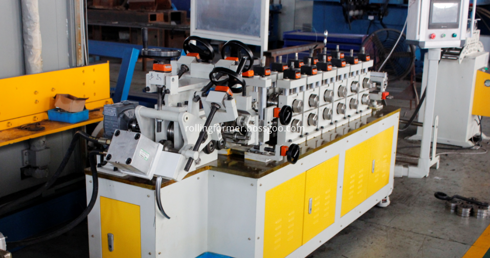 exhaust band clamps bending machine