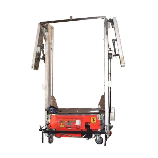 Type CFQ500 Automatic Wall Cement Plastering Machine