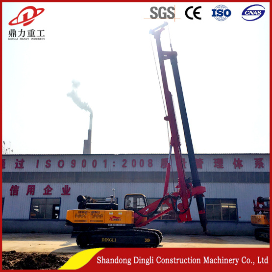 150 kW torque rotary drilling rig