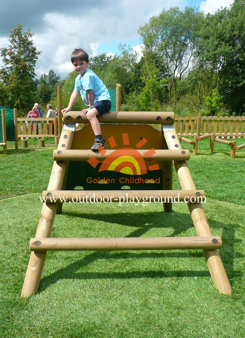 climber frame playground for children