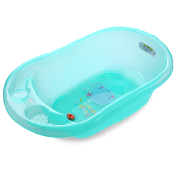 H8305 Plastic Transparent Baby Bathtub Medium Size