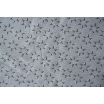 100% Polyester Star Type Plastic Dots Fabric