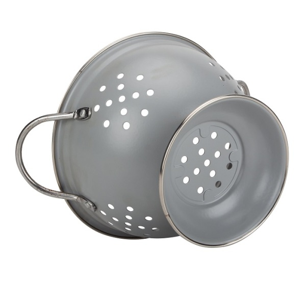 Colander Enamel Container For Vegetable and Fruit