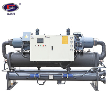 60HP  Water cooled twin screw chiller