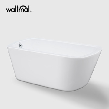 Pure Scape Acrylic Single Ended Free Standing Bathtub