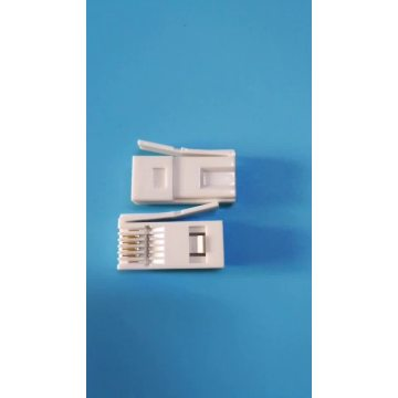 6p6c UK plug RJ11 connector