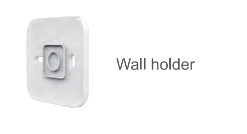 Wall Emitter IP30 White
