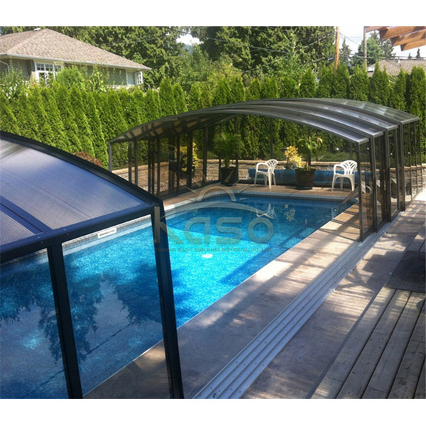 Swimming Drain Dome Electric Pool Cover