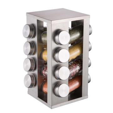 16pcs Stainless Steel Spice Rack