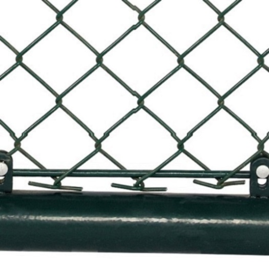 pvc coated Chink link wire cyclone mesh fence cost manufacturers