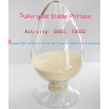 Super heat stable granular/powder phytase