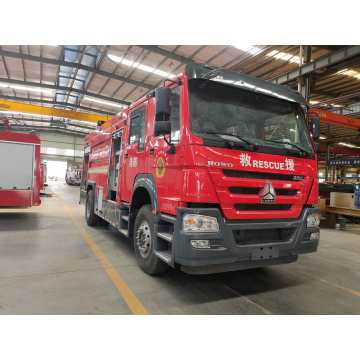 Factory Sale HOWO T5G 8000litres Fire Engines