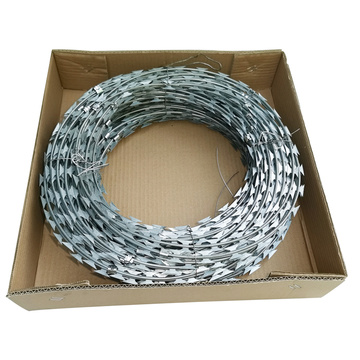 Cheap Galvanized razor wire razor barbed wire