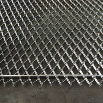 Galvanized Steel Expanded Metal Flattened Mesh