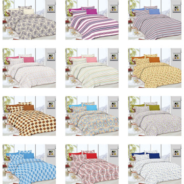 Printing Color Fabric Handmade Quilt Quality Bedspreads