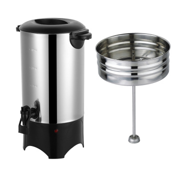 stainless steel coffee boiler