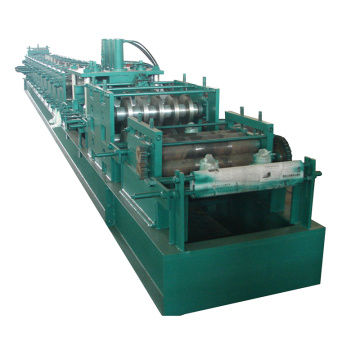 Quick change concrete cz purlin roll forming machine