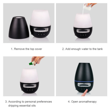 Air Conditioner Led Night Light Portable Aroma Diffuser