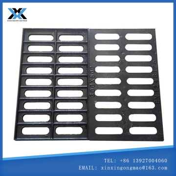 Ductile iron rain grate Ditch cover plate