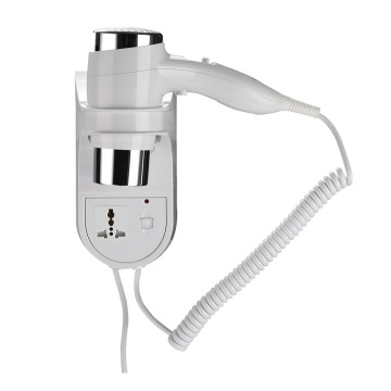 Hotel Bathroom Wall Mounted hHair Dryer With CE