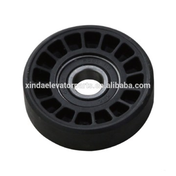 Step wheel 76x22 bearing 6203 for escalator spare part
