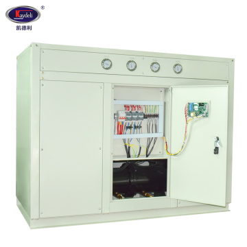 Water cooled low temperature chiller