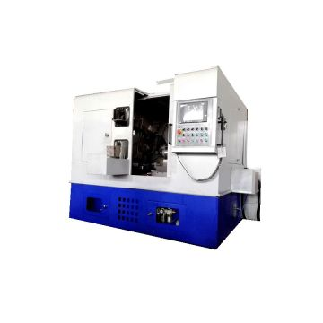 Self-aligning roller bearing ring superfinishing machine