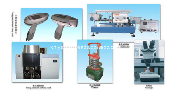 Glass beads Testing Equipment