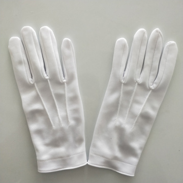 Disposable White Cotton Gloves Safety Worker Hand Gloves