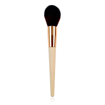Powder Brush With Bamboo Handle