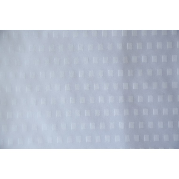 100% Polyester Bed Sheet square embossed Fabric