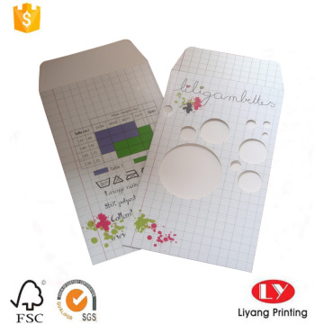 Custom ordinary paper envelope with window