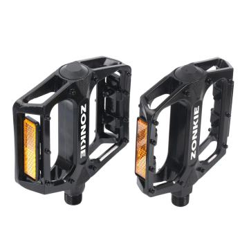 Mountain Bicycle Pedals Flat Aluminum Alloy Platform