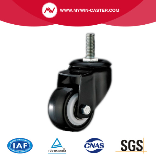 Threaded Stem TPR Industrial Caster