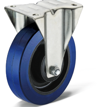 Heavy duty casters with high temperature resistance