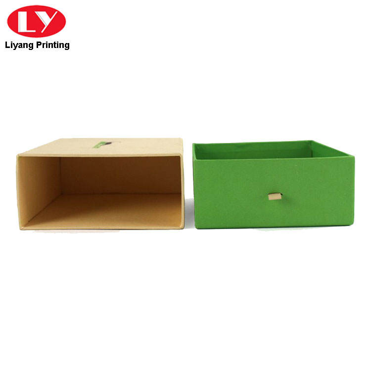 Drawer Boxes Green
