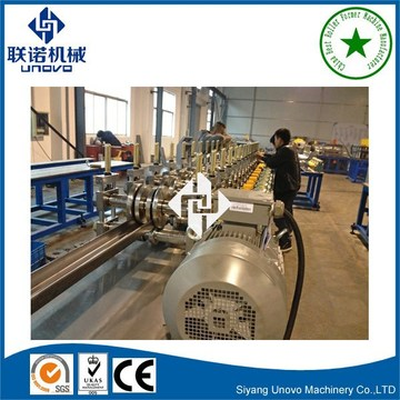 high quality C slotted strut channel roll forming machine