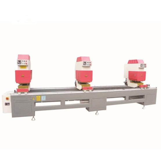 Three Head Welding PVC Profile Machine