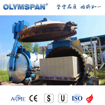 ASME standard cement ACC brick treatment autoclave