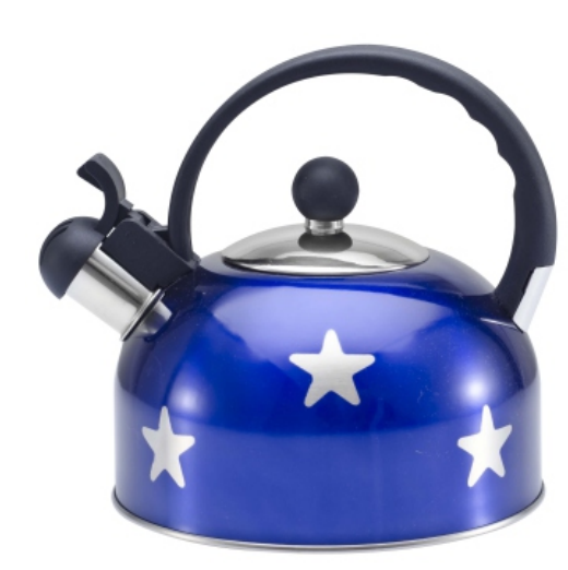 KHK125 3.0L color painting Teakettle  blue color