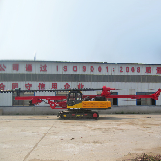 Hydraulic Diesel Auger Pipe Drill Rig