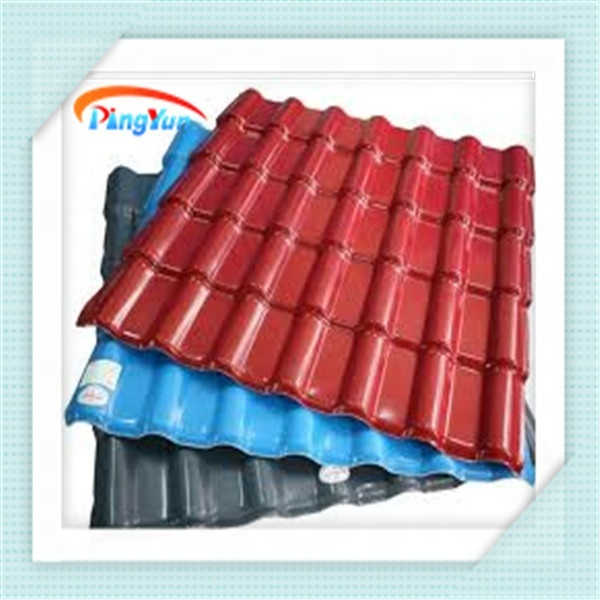 new materials pvc corrugated roof sheet for pavilion