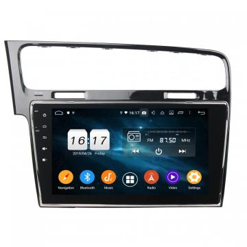 10Iinch car navigation for Golf 7 2013-2015