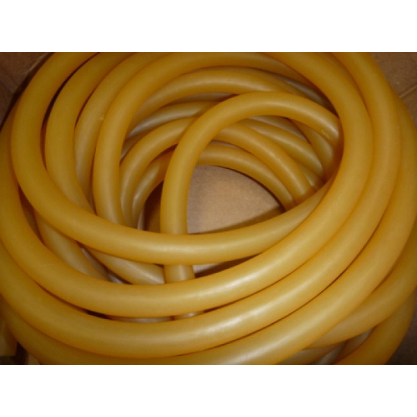 Amber Small Hole Speargun Band Rubber Tubing